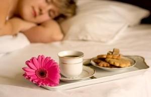 рутина флайледи - утреннее кофе в постель для флаюшки