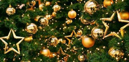 Елочные украшения, сделанные своими руками на елке